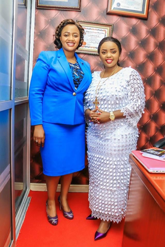 Catherine Waruguru with Rev Lucy Natasha