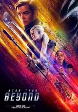 """Carátula del DVD: """"Star Trek: Más allá"""""""