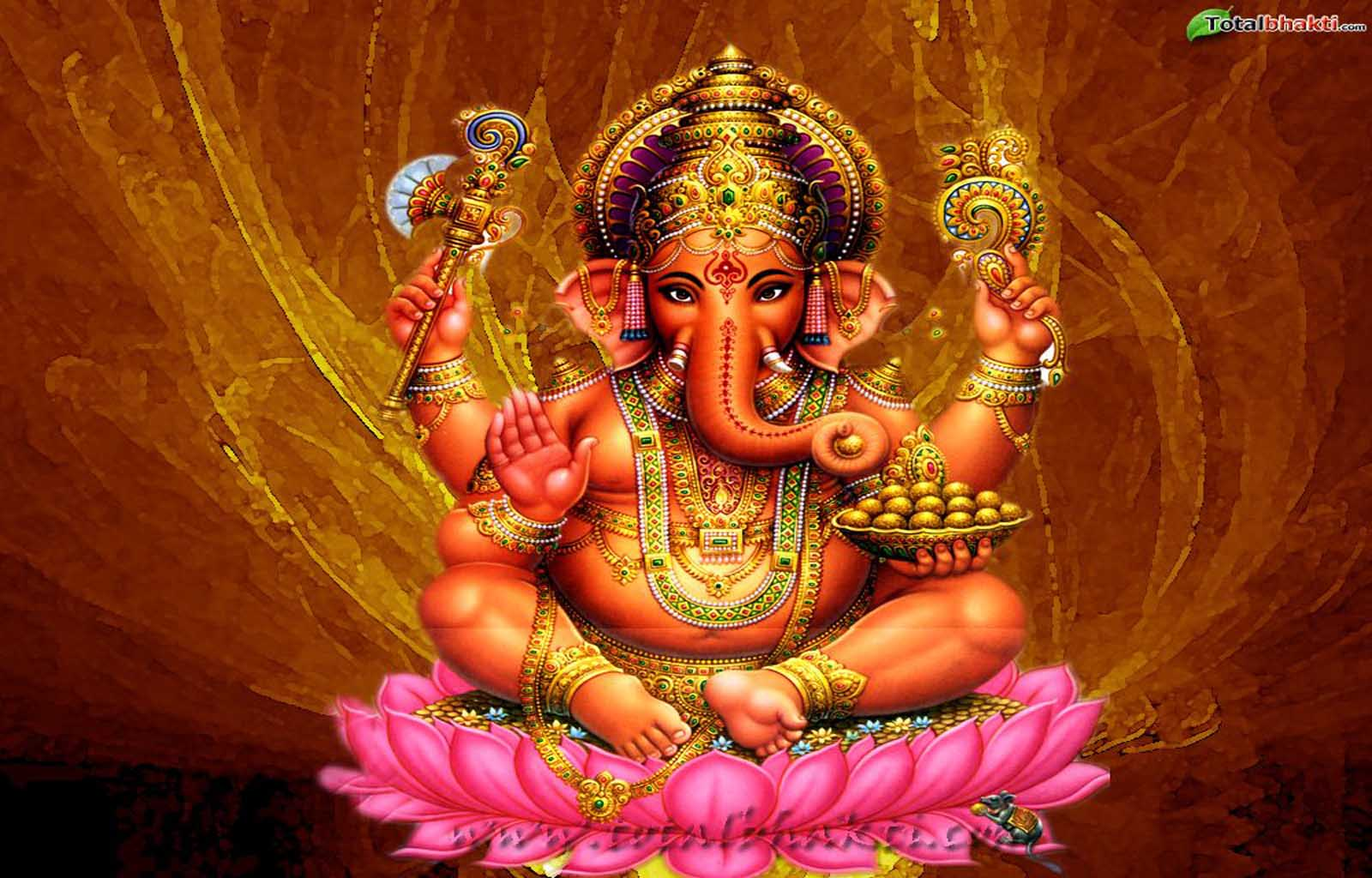 Ganesha: Hare Krishna: Shri Ganesh Wallpaper-8