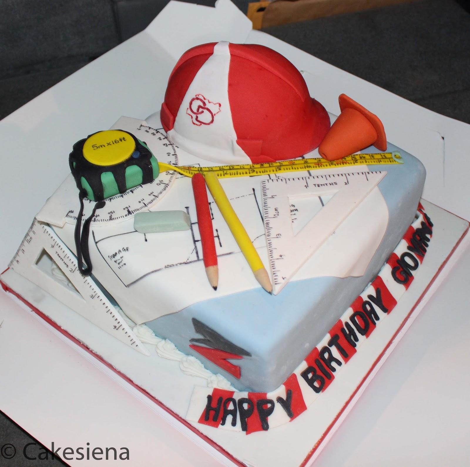 Cake Art South Penrith : Cake Factory: Engineer Cake