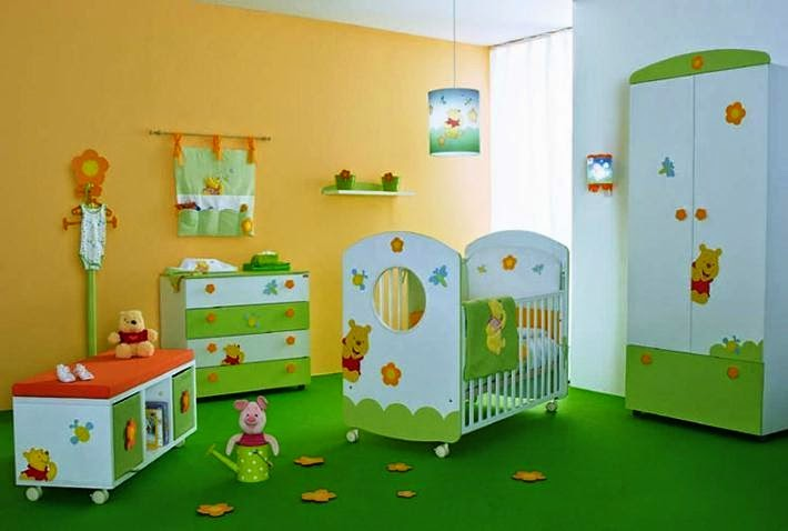 wall color ideas for baby room