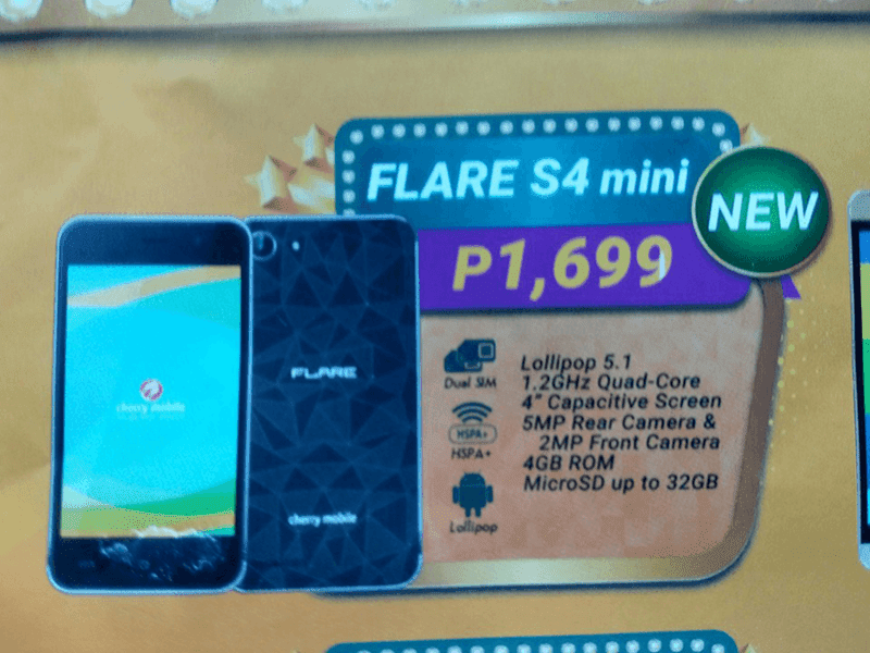 Cherry Mobile Flare J1 Mini