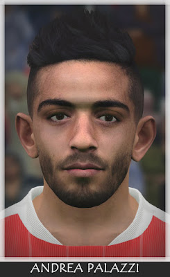 PES 2017 Andrea Palazzi (Pro Vercelli) by Bono Facemaker