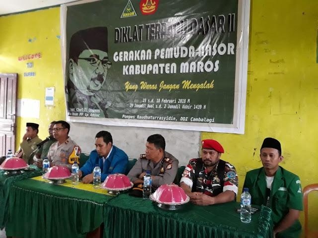 Menambah Kuantitas Kader,GP Ansor dan Banser Gelar DTD Angkatan II