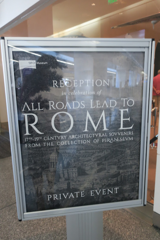 Opening Party: All Roads Lead To Rome Exhibition