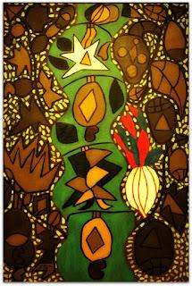 Série Amazônica (O Rio) [Francisco Brennand] (1966) Óleo sobre Tela