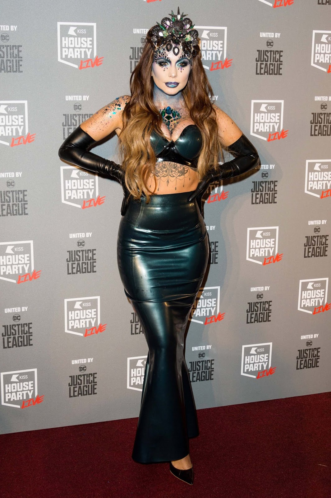 Holly Halston Latex regarding lovely ladies in leather: olivia buckland in a latex costume