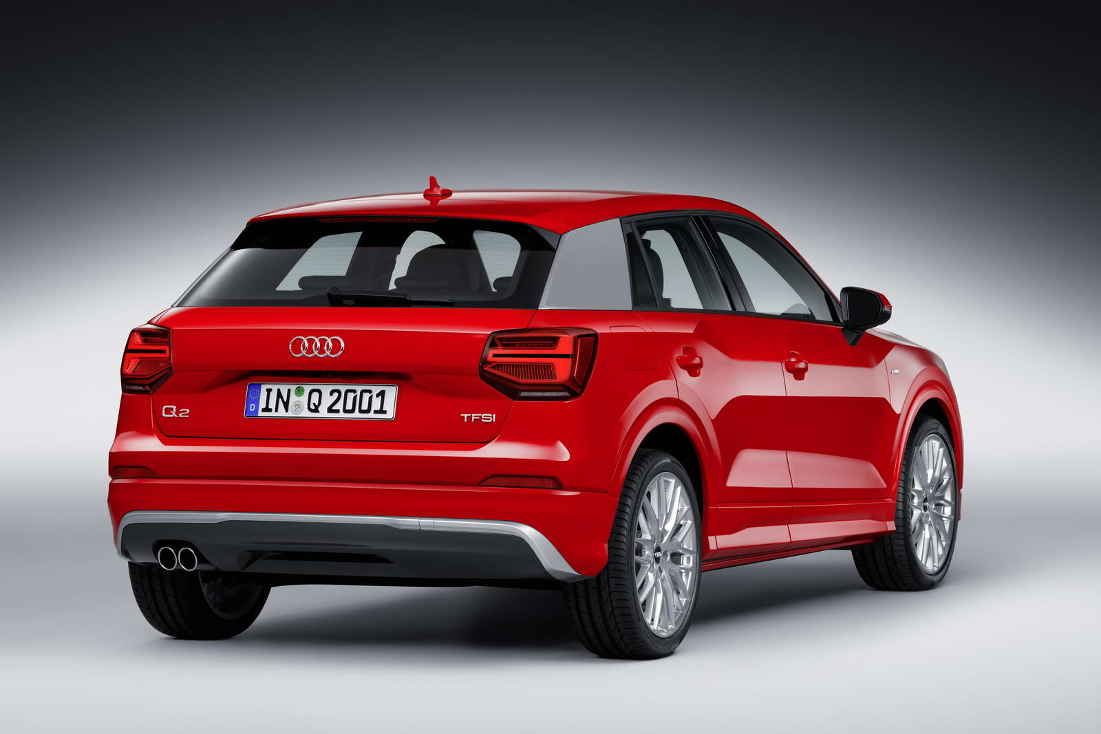 new audi q2 small suv sheds ingolstadt s one design fits all mantra. Black Bedroom Furniture Sets. Home Design Ideas