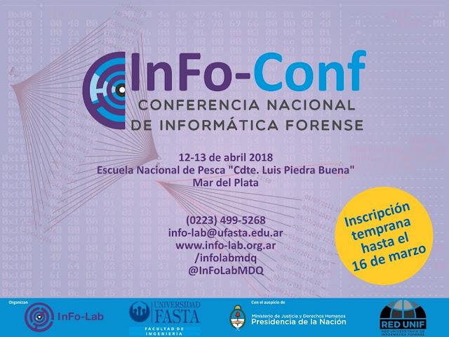 Mar del Plata sera sede de la 2ª Conferencia Nacional de Informática Forense