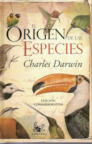 """""""El origen de las especies"""" - Charles Darwin."""