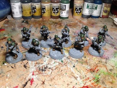 Death Korps of Krieg Squad WIP