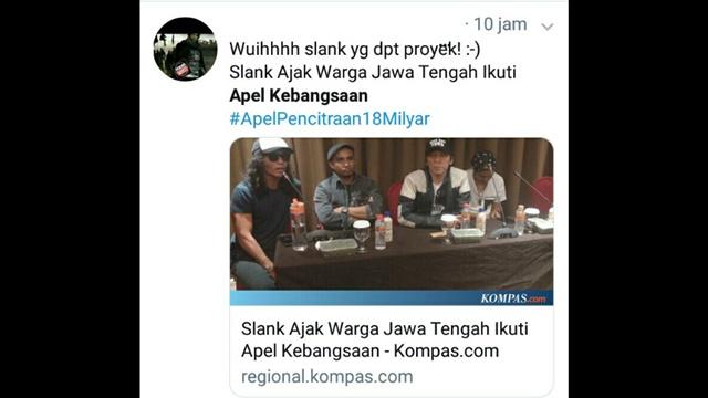 Apel Kebangsaan demi Jokowi, Andi Arief: Uang Negara Dihambur buat Bayar Slank