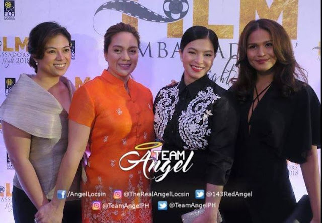 Angel Locsin Was Recognized For Her Win In The 57th Asia-Pacific Film Festival