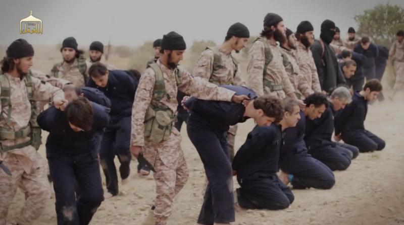 Isis Grausame Hinrichtungen