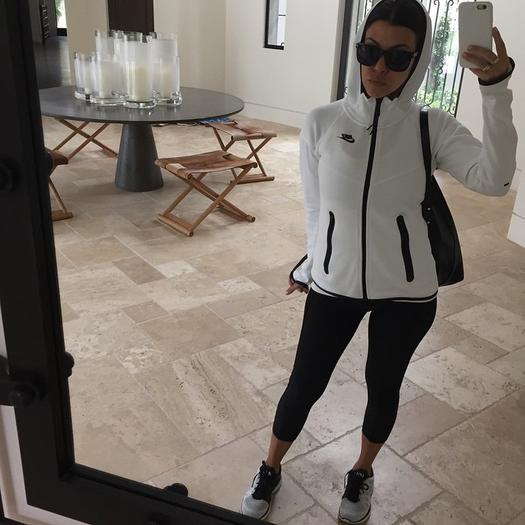 Kourtney Kardashian's Fitness Style Gives Khloe's a Run for Her Money