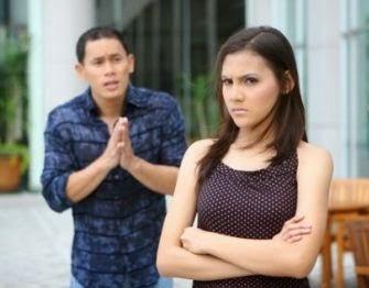 Membujuk wanita yang sedang marah