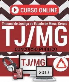 Curso online concurso TJMG 2017 gratis download.