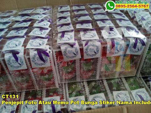 Jual Penjepit Foto Atau Memo Pot Bunga Stiker Nama Include Mika Eksklusif