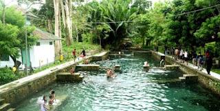 Tempat Wisata di Maluku pemandian air panas tulehu