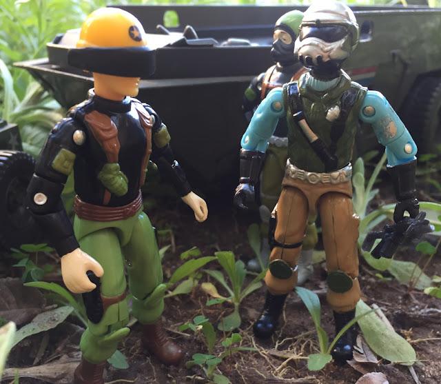 2017, Black Major, Red Laser Army, Steel Brigade, Mail Away, General, Hawk, Outlaw, APC, 1983
