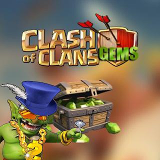 Trik Gratis 1200 Gems Clash Of Clans COC Terbaru cover