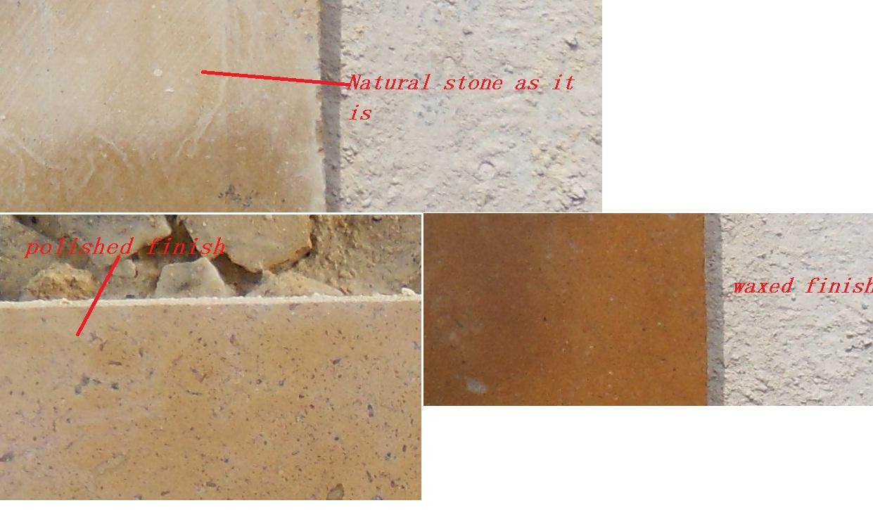 Fireplace Mantels Honed Stone Vs Polished Stone Vs Waxed