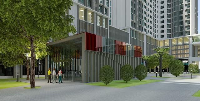 Eco Green City được thiết kế với hơn 70% diện tích dành cho cây xanh