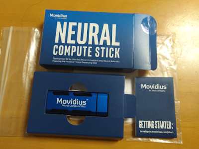 Intel Movidius Neural Compute Stick の環境を準備した