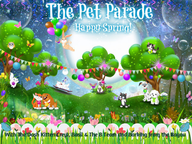 Spring Banner 2019 ©BionicBasil® The Pet Parade