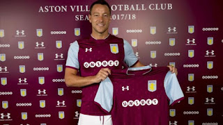 John Terry signs a year deal with Aston Villa