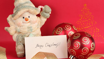Electronic christmas cards