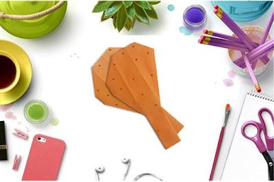 Cách gấp, xếp chiếc đùi gà bằng giấy origami - Video hướng dẫn