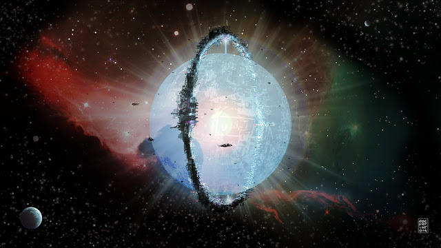 alien megastructure photograph