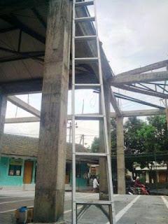 Contoh tangga galvalum panjang 6 meter