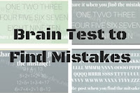 Brain Test to Find Mistakes in Puzzle Images