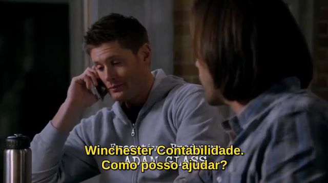 Supernatural S10E18 Winchester's Accounting Contabilidade
