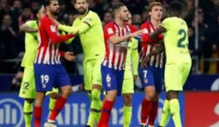 Former Chelsea striker Diego Costa has criticised Antoine Griezmann for supporting a Barcelona player Samuel Umtiti  during their 1-1 clash in the La Liga on Saturday at the Wanda Metropolitano.
