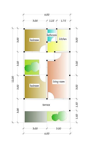 floor plan of beautiful house plan 11