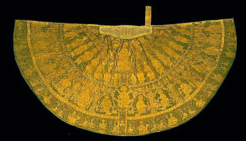 e25fea5f5b A magyar királyok koronázó palástja, egész Európában a létező legrégebbi  hímzés.