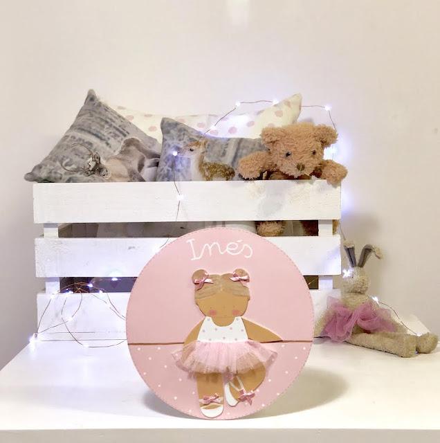 placa-puerta-decoración-infantil-personalizada-bailarina ballet