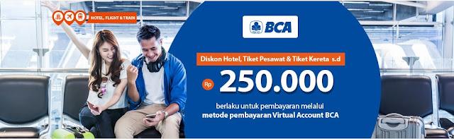Pegipegi Promo BCA Debit Card! Diskon Hotel, Pesawat & Kereta Api Hingga Rp. 250 Ribu Januari 2018