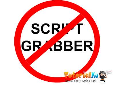 Tidak Ada Lagi Pembuatan Script Grabber atau Clone Situs