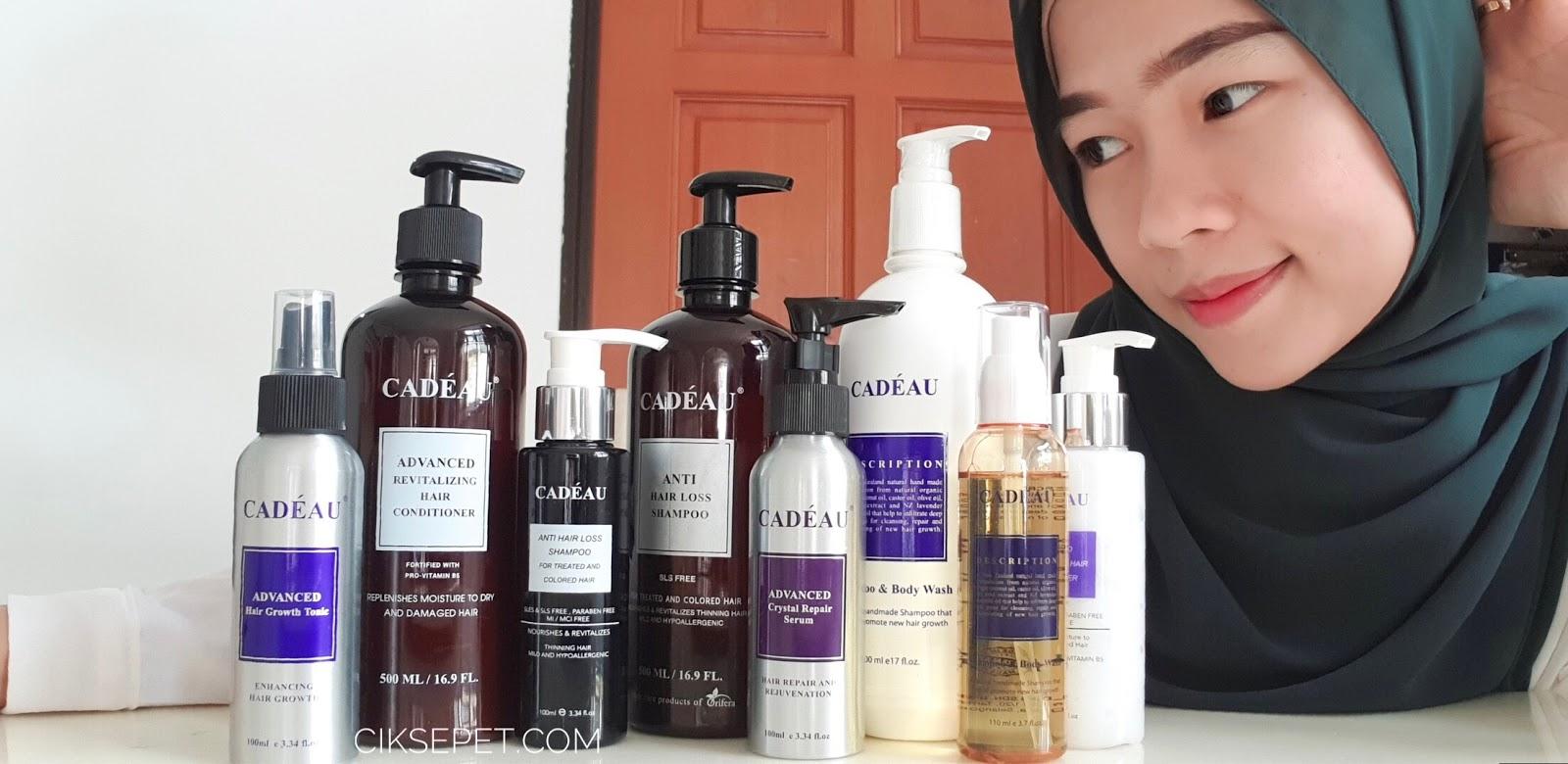 CADEAU Shampoo Rambut Gugur Dan Kelemumur