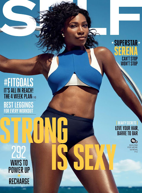 Tennis Player, @ Serena Williams for Self Magazine, September 2016