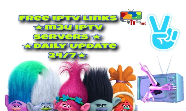 IPTV LINks PREMIUM M3U PLAYLIST FOR FREE 11-03-2019 ★Daily Update 24/7★IPTV (Internet Protocol television)