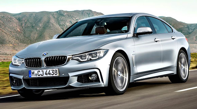 BMW 4-series Gran Coupé 2018 frente gris