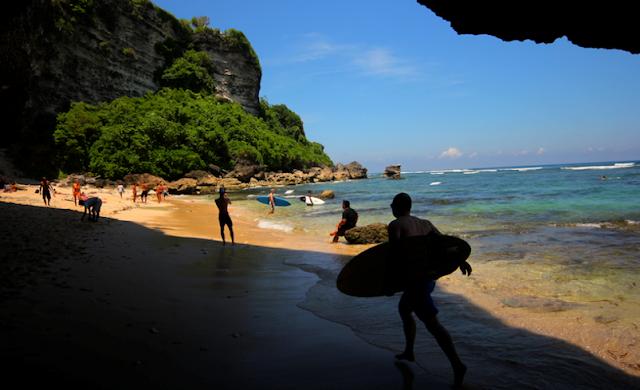 daftar 10 pantai terbaik di indonesia - Pantai Blue Point, Bali