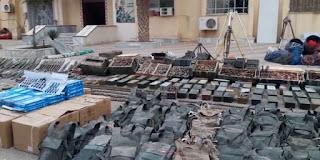 US-made ammo left behind Daesh in Deir Ezzor