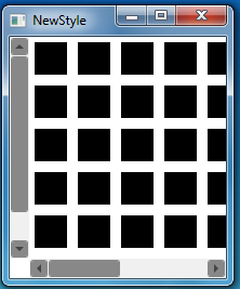 Styling A ScrollViewer/Scrollbar In WPF