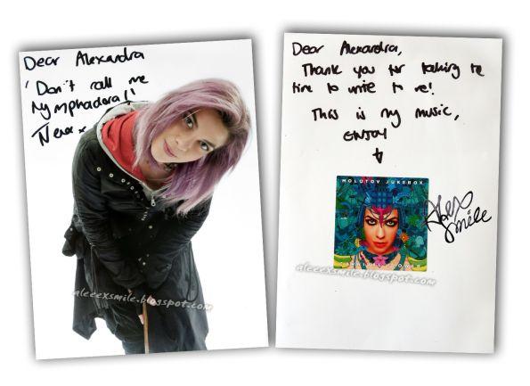 Natalia Tena Nymphadora Tonks Nimfadora Autograph autograf